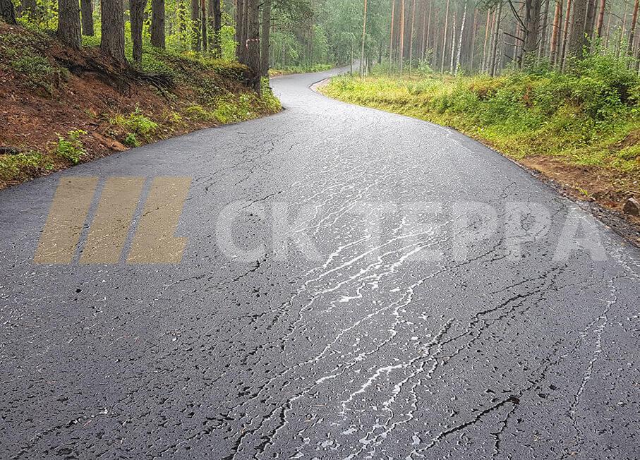 Асфальтирование дороги в ДНП Солнечное, 1й этап. 12